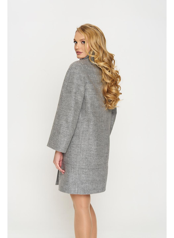 Пальто Лайма, шерсть, серый купить в Украине: фото, цена, характеристики, отзывы - фото 2
