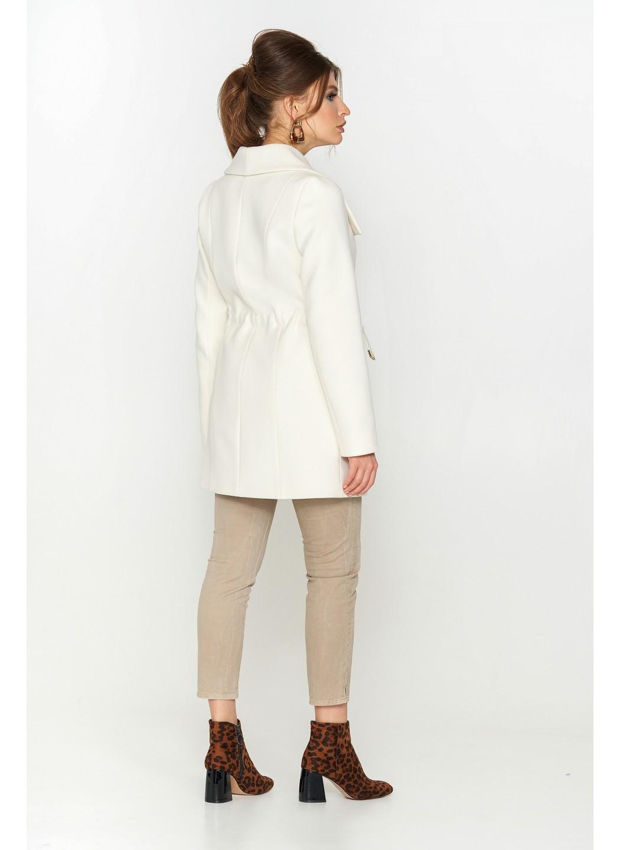 Женское Демисезонное Пальто Мадрид Кашемир Белый купить в Украине: фото, цена, характеристики, отзывы - фото 2