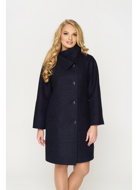 Пальто Лайма, шерсть, тёмно-синий купить в Украине: фото, цена, характеристики, отзывы - фото 1
