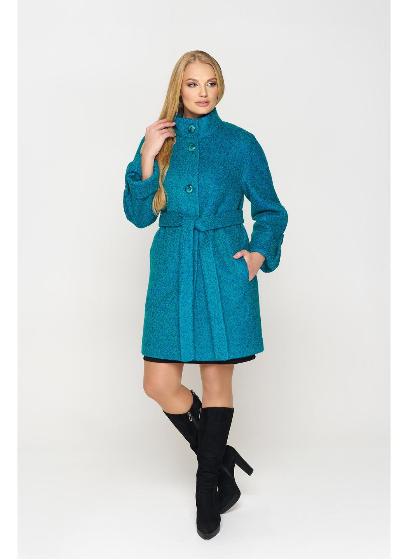 Женское Зимнее Пальто Шарлотта Букле Бирюза купить в Украине: фото, цена, характеристики, отзывы - фото 1