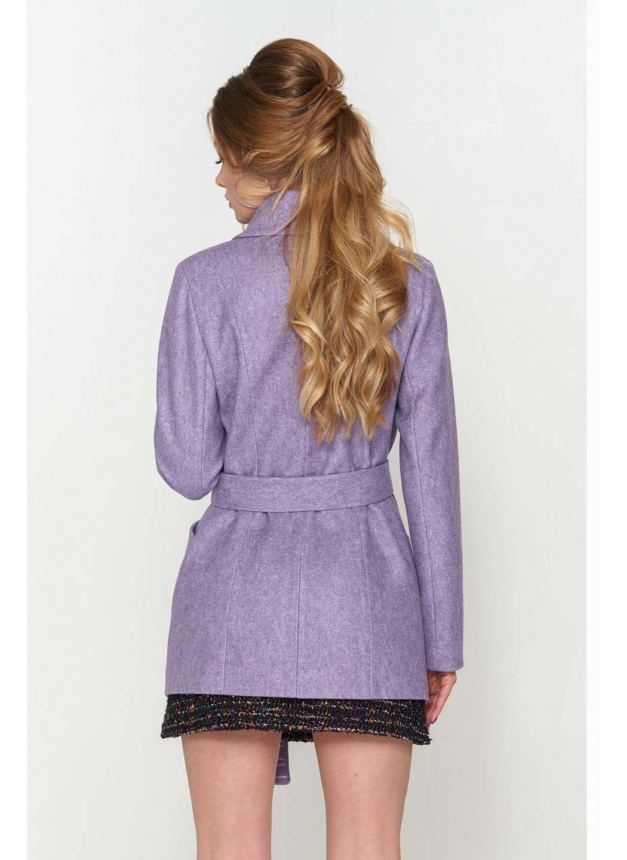 Женское Демисезонное Пальто Алина ёлка сирень 9904 купить в Украине: фото, цена, характеристики, отзывы - фото 3