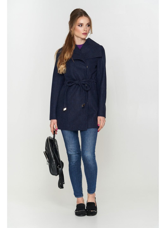 Женское Демисезонное Пальто Мадрид Шерсть Темно-синий купить в Украине: фото, цена, характеристики, отзывы - фото 1