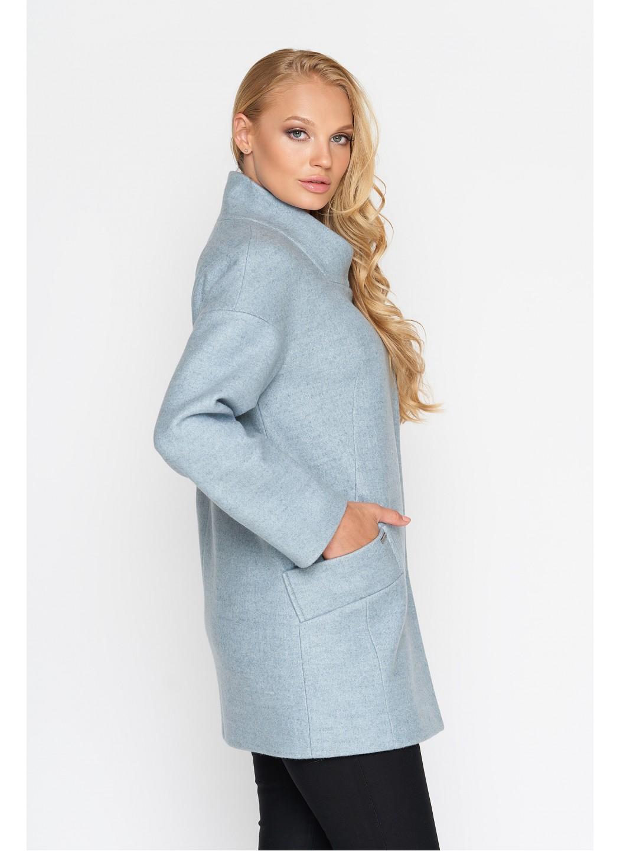 Пальто Мика, шерсть, бледно - голубой купить в Украине: фото, цена, характеристики, отзывы - фото 2