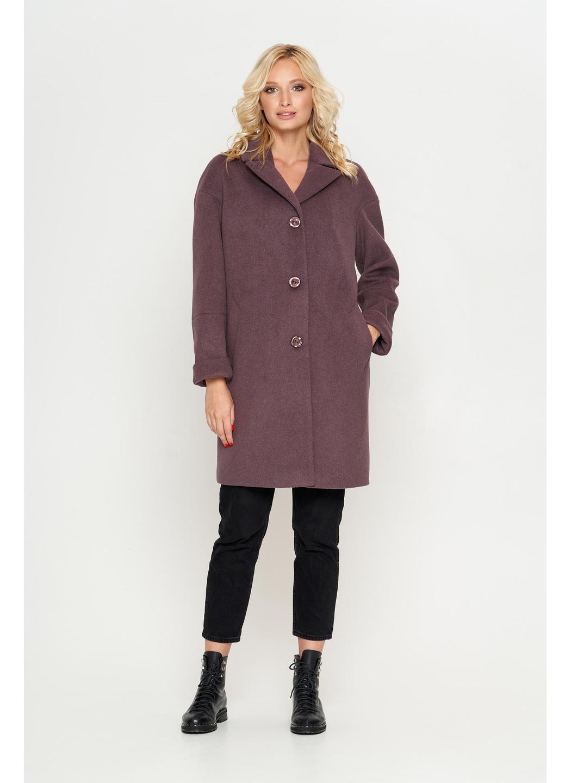 Женское Демисезонное Пальто Орнелла Шерсть Фиолет купить в Украине: фото, цена, характеристики, отзывы - фото 1