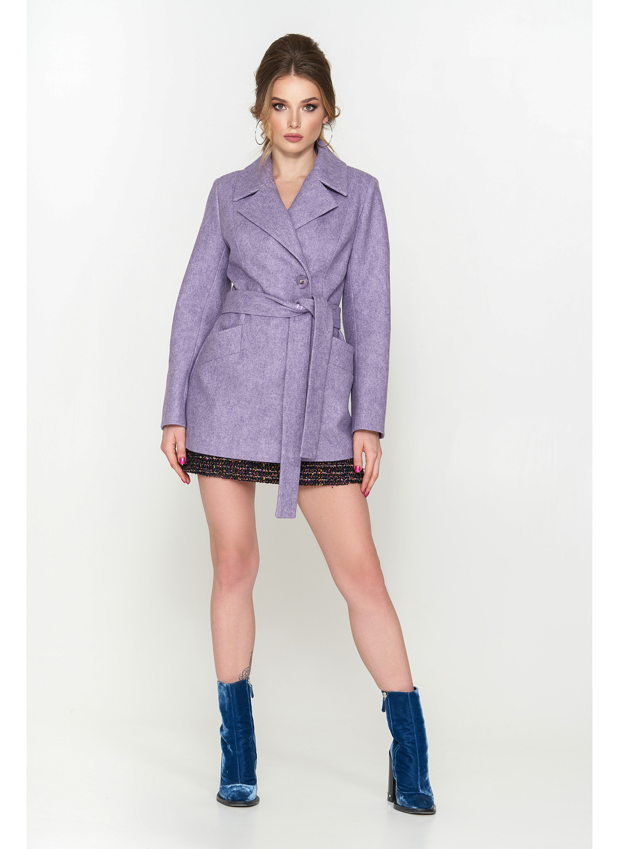 Женское Демисезонное Пальто Алина ёлка сирень 9904 купить в Украине: фото, цена, характеристики, отзывы - фото 1