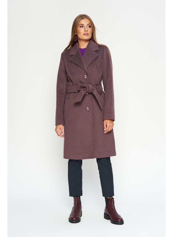 Пальто Лия, деми, фиолет