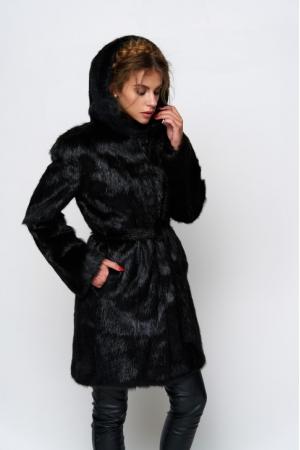 Классическое меховое пальто Лилия