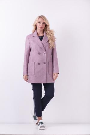 Пиджак Виктория, деми, ш/е, розовый 9903