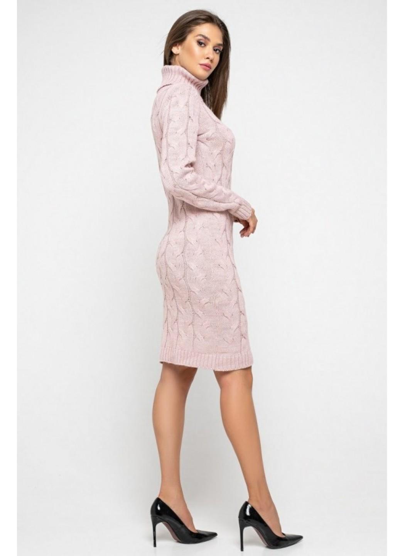 Женское Вязаное платье Сабрина Пудра купить в Украине: фото, цена, характеристики, отзывы - фото 2
