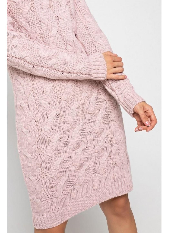 Женское Вязаное платье Сабрина Пудра купить в Украине: фото, цена, характеристики, отзывы - фото 1