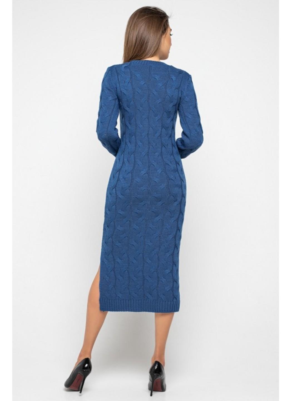 Женское Вязаное Платье Эвелина Джинс