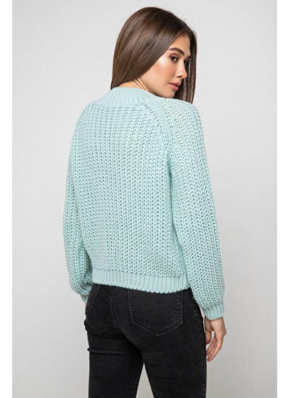 Вязаный свитер «Злата» - лед