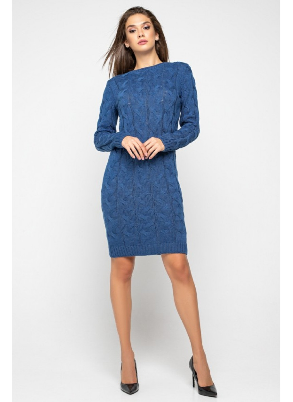 Женское Вязаное Платье Каролина Джинс купить в Украине: фото, цена, характеристики, отзывы - фото 1