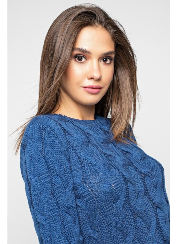 Женское Вязаное Платье Каролина Джинс купить в Украине: фото, цена, характеристики, отзывы - фото 2