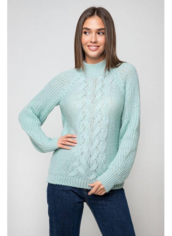 Женский Вязаный свитер Ника с люрексом Лед купить в Украине: фото, цена, характеристики, отзывы - фото 1