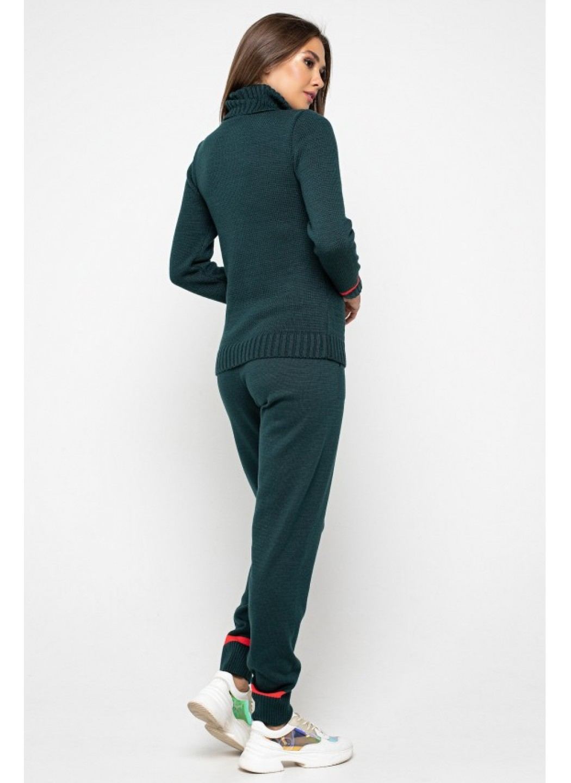 Женский Вязаный костюм Рима Зеленый купить в Украине: фото, цена, характеристики, отзывы - фото 2