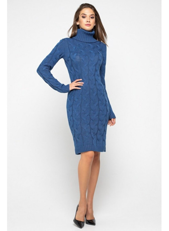 Женское Вязаное платье Сабрина Джинс купить в Украине: фото, цена, характеристики, отзывы - фото 1