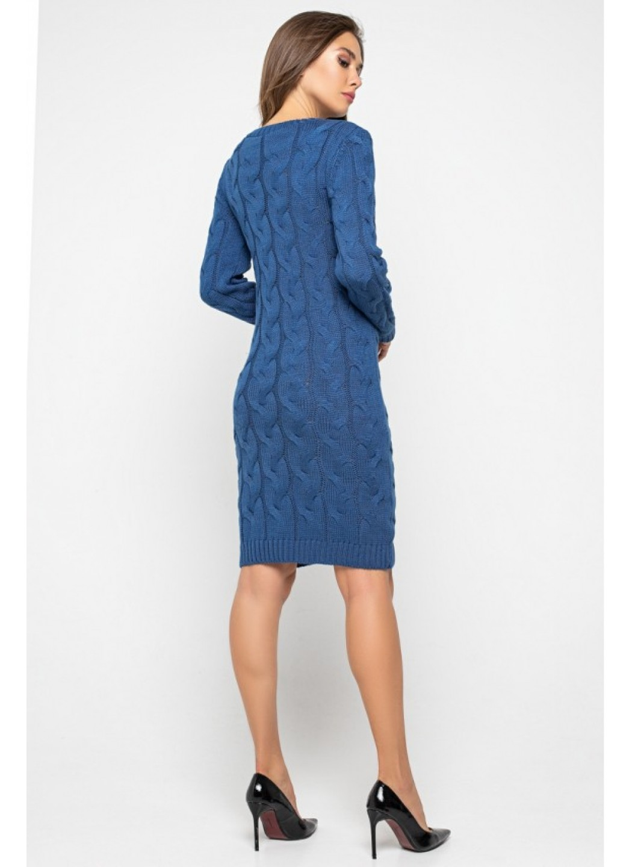 Женское Вязаное Платье Каролина Джинс купить в Украине: фото, цена, характеристики, отзывы - фото 3