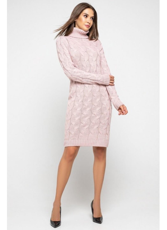 Женское Вязаное платье Сабрина Пудра купить в Украине: фото, цена, характеристики, отзывы - фото 3