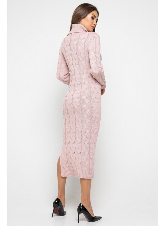 Женское Вязаное платье Ангелина Пудра купить в Украине: фото, цена, характеристики, отзывы - фото 3