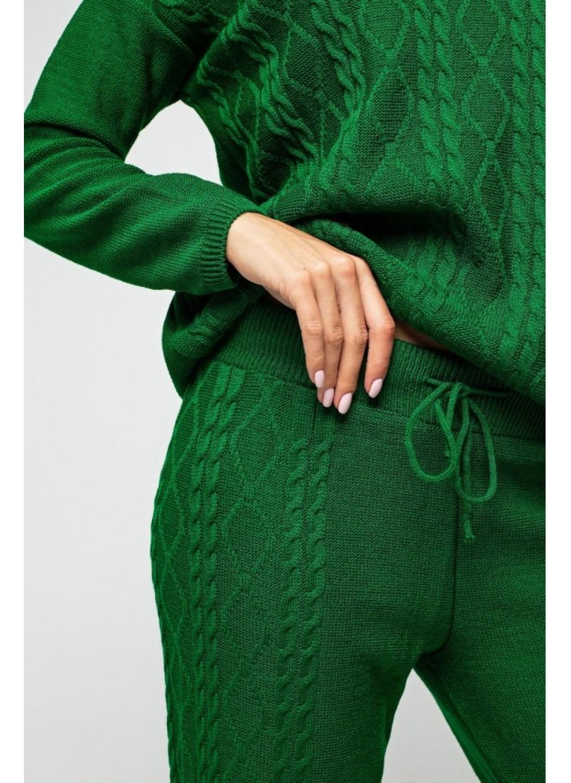 """Вязаный костюм """"Лилия"""" - Зеленый"""